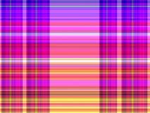 Plaid / tartan pattern background. Pink tone of colored plaid / tartan pattern background vector illustration