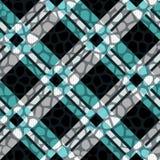 Plaid, tartan seamless with Crocodile Skin Pattern Leather. Crocodile. Skin. Wallpaper. Background. Monochrome. Paper. Textile Fashion Ebdless Smooth Graphic vector illustration
