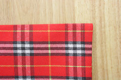 Plaid textiles Royalty Free Stock Photography