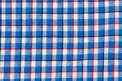 Plaid Texture. Close-up of a red and white cloth royalty free stock photos