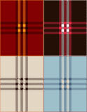 Plaid texture background vector illustration Royalty Free Stock Photo