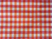 Plaid texture. Cotton plaid texture Royalty Free Stock Photography
