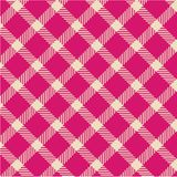 Plaid texture, vector pattern Stock Photography