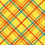 Plaid texture, vector pattern Royalty Free Stock Photography