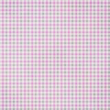 Plaid textured Fabric Background. In purple and grey Stock Photo