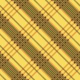 Plaid twill seamless tartan pattern. Diagonal texture. Royalty Free Stock Photos