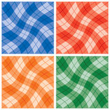 Plaid Twist Pattern Royalty Free Stock Photography