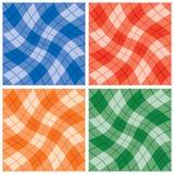 Plaid Twist Pattern Royalty Free Stock Photography