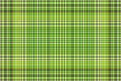 Plaid vert Photo stock