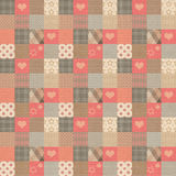 Plaid vintage pattern Royalty Free Stock Image