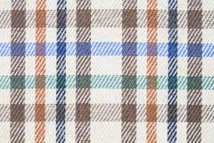 Plaidgeruit schots wollen stof voor naadloos patroon als achtergrond royalty-vrije stock foto's