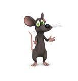 Plaidoirie de souris Photos stock