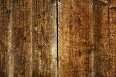 Plain Ancient Textured Wooden Background Stock Photography