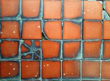 plain antique tiles pattern Royalty Free Stock Images