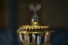 Plain badminton cup Stock Images