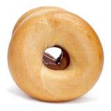 Plain bagels Stock Images