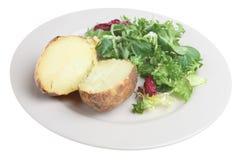 Plain Baked Potato Royalty Free Stock Photography