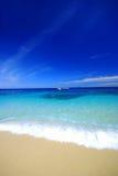 Plain Beach scenery Stock Photo