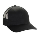 Plain Black Cap Royalty Free Stock Photos