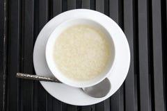 Plain boil rice Stock Photo