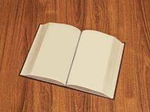 Plain Book Pages Royalty Free Stock Photo