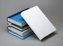 Plain books for graphic design Stock Photography