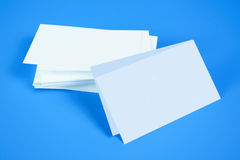 Plain business card Royalty Free Stock Images