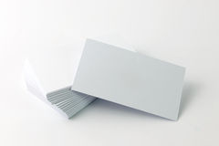 Plain business card Royalty Free Stock Photography