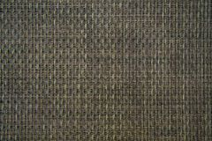 Plain checkered brown woven mat texture background stock images