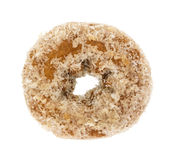 Plain coconut flake donut on a white background Stock Image