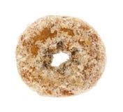 Plain coconut flake donut on a white background Stock Image