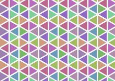 Plain color triangle pattern. Standard shape, with many attractive colors. Suitable for wallpaper, background and fabric design. Smooth image and large file vector illustration