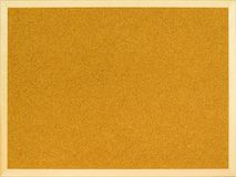 Plain cork board Royalty Free Stock Photography