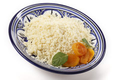 Plain couscous angled Stock Image