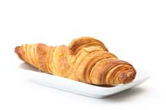 Plain Croissant Royalty Free Stock Photos