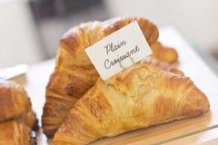 Plain Croissants Stock Images