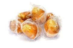 Plain cupcakes Royalty Free Stock Photos