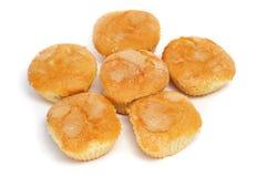 Plain cupcakes Stock Image