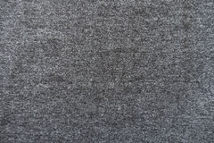 Plain dark grey jersey fabric from above Stock Images