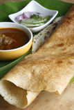Plain Dosa - A pancake from South India Stock Photo