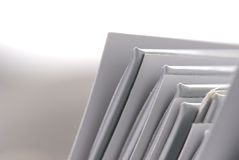 Plain folders Stock Images