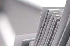 Plain folders Stock Photo