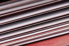 Plain folders Stock Photo