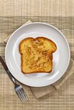 Plain French Toast Stock Photography