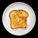Plain French Toast Royalty Free Stock Image