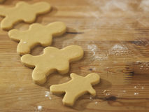 Plain gingerbread man Royalty Free Stock Images