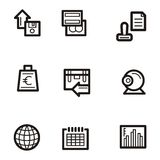 Plain Icon Series - Business Stock Photo