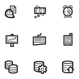 Plain Icon Series - Business Stock Photos