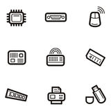 Plain Icon Series - Computers Royalty Free Stock Image