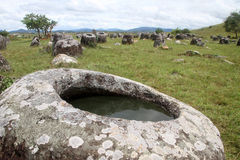 Plain of jars Stock Photography